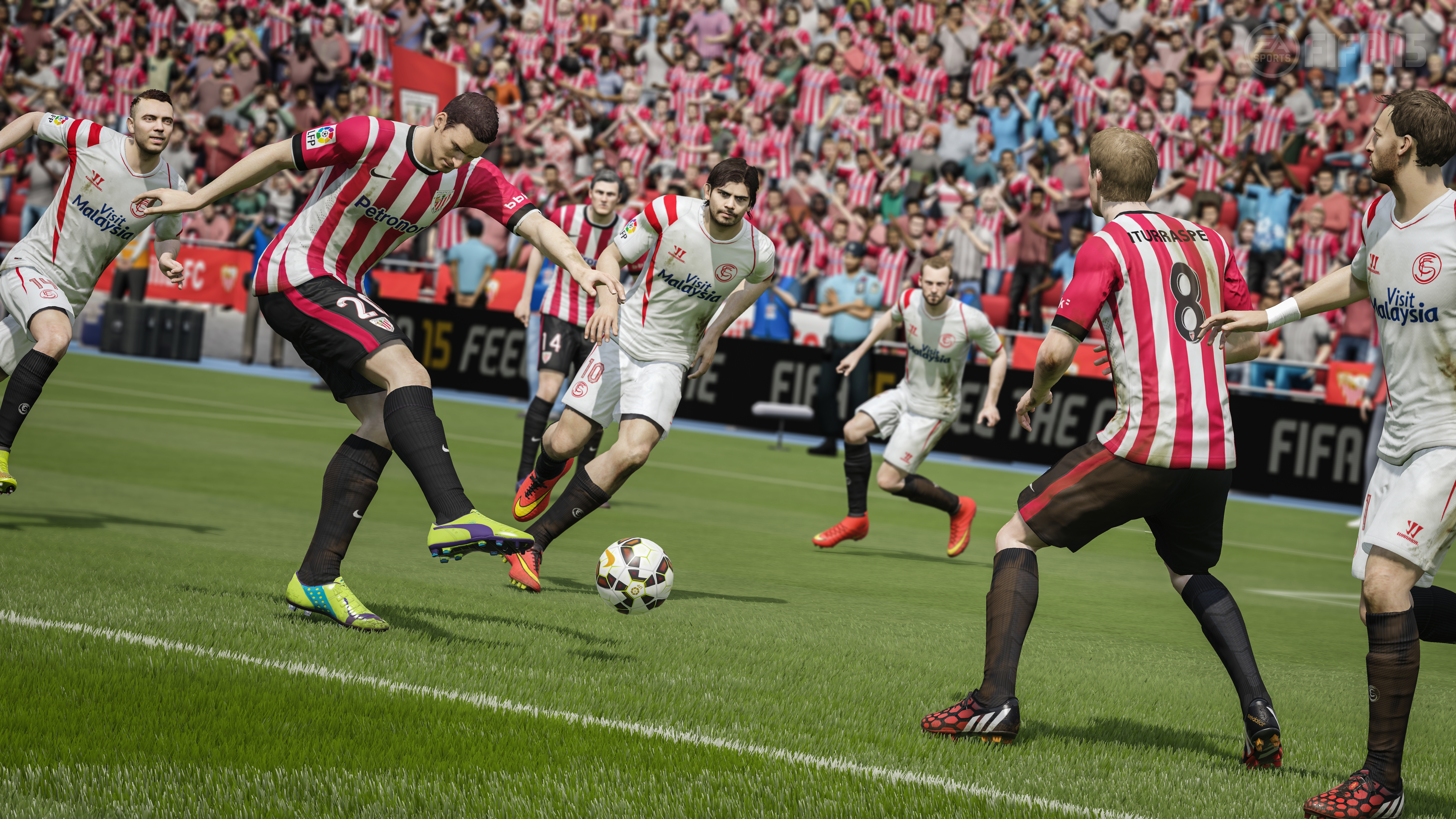 FIFA 14 sold just as well last year, but FIFA 15 stands up to a tough competitor during its launch week.