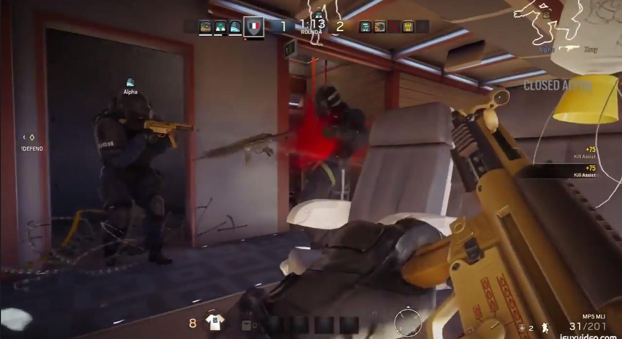 Tom Clancy's Rainbow Six: Siege Gameplay Video Leaked