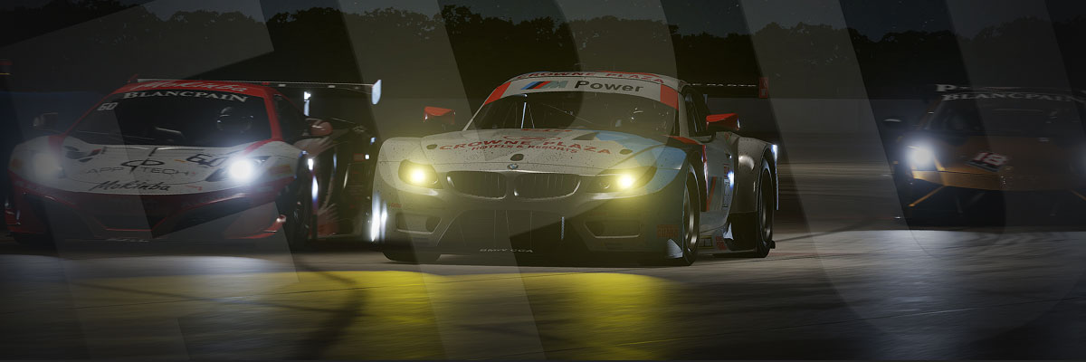 Take to the streets in the dark this time around with night racing.