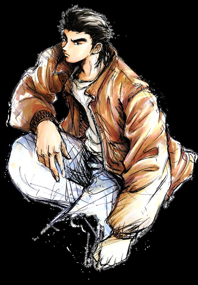 Ryo Hazuki as designed by Kenji Miyawaki for Shenmue
